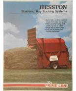 1981 Hesston StakHand, StakFeeder, StakMover Color Brochure - $8.00