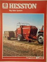 1985 Hesston 4800 Large Rectangular Baler and Equipment Brochure - $10.00