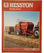 1985 Hesston 4800 Large Rectangular Baler and Equipment Brochure - $10.00