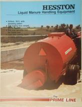 1981 Hesston 1510, 1520 Slurry Spreaders & 1505 Manure Agitator Brochure - $8.00