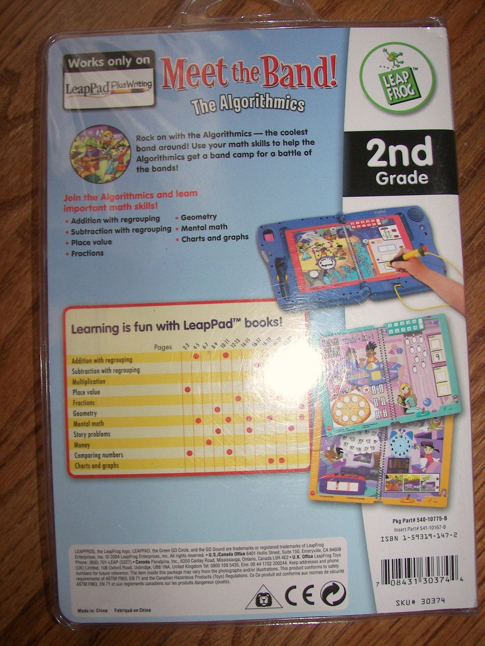Interactive Book by Leap Frog for LeapPad Plus Writing Pad