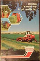 1974 Hesston Hay Equipment Brochure - $8.00