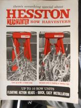 1974 Hesston Headhunter Row Harvesters Brochure - $7.00