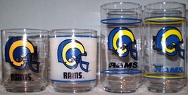 Mobil Football Glasses Los Angeles Rams - $16.00