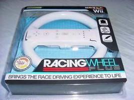Wii White Racing Wheel (Komodo) NEW - $9.79