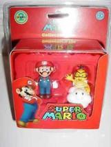 Super Mario Collector Tin Set Mario & Lakitu NEW - $9.79