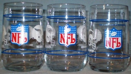Mobil Football Glasses NFC Divisions Eastern Central Western - $12.00