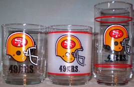 Mobil Football Glasses San Francisco 49ers - $12.00