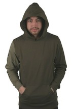 Dope Homme Canon à Caissons Pull Olive Nwt