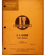 Case 1200 Traction King Tractor Repair and Overhaul (I&T) Manual - $13.00
