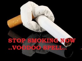 Voodoo Powers Stop Smoking Spell Amulet Easy Give Up Haunted Spell Ring - $49.00