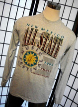 New Mexico 1995 All State Music Festival NMMEA UNM rare long sleeve 50/50 tee sh - $19.95