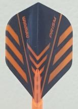 Winmau Prism Orange Standard Dart Flights - $1.75
