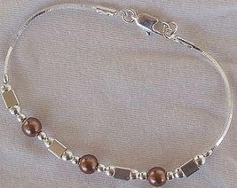 Brown silver bracelet a 5 thumb200