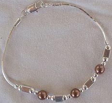 Brown silver bracelet a 3 thumb200