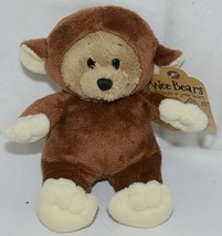 GANZ Brand Wee Collection H13379 Brown Tan Monkey Costume Bear - $9.99