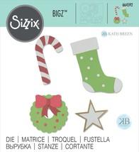 Sizzix Bigz Die By Kath Breen-Seasonal Elements - $25.16