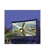 Inflatable Outdoor Big Movie Screen Yard Kids Projector Show Widescreen ... - $264.99