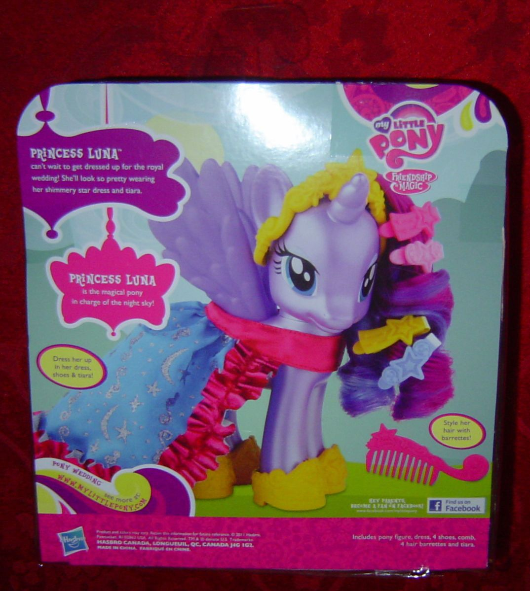 My Little Pony Fashion Style Princess Luna Friendship Is Magic Fim G4 1990 Now