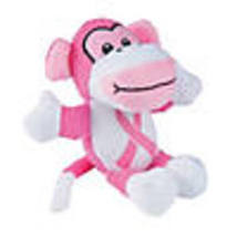 Plush Pink Ribbon Awareness Monkeys - $26.36