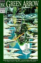 Dc Comic Book Green Arrow #50 Home Is the Hunte... - $3.14