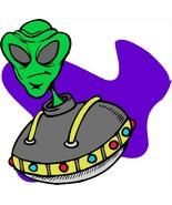 Alien Flying Collage--Digital Download-ClipArt-... - $4.00