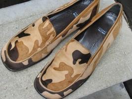 STUART WEITZMAN Used Animal Fur Loafers Size 7 B - $17.56
