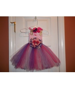 BABY GIRL LONG PINKS & PURPLE TUTU PHOTO PROP D... - $18.00