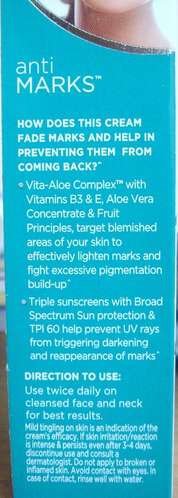 Fair & and Lovely 50g Anti-Marks For Blemish-less Fair Skin Fairness Cream USA