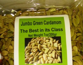 200g/7 Oz. Natural Green Whole Cardamom Pods Grade A Best Quality Usa Fast Ship - $15.00