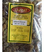 Lazzat 14oz Indian Imported Green Raisin BEST QUALITY BEST TASTE USA SELLER - $16.00