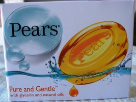 4 BARS! Pears Transparent Soap Gentle Care w/ Glycerin 75g USA SELLER FA... - $11.95