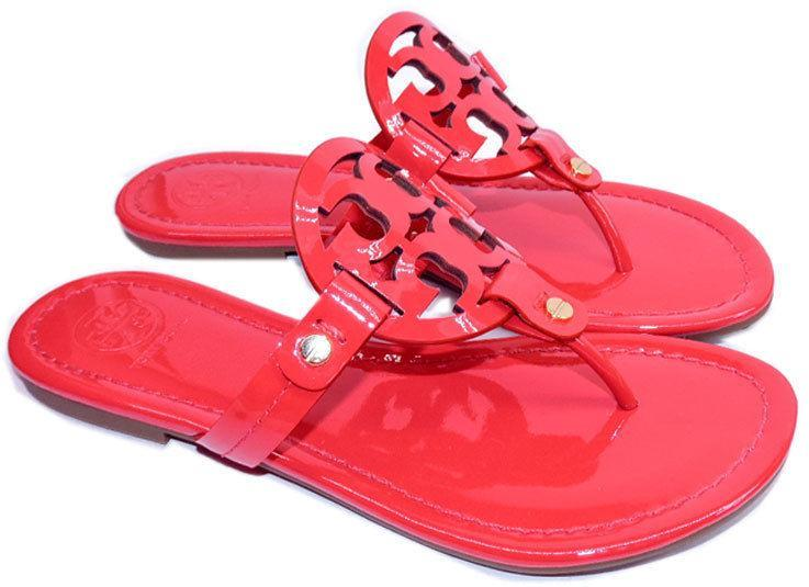 dbaf1a77a Tory Burch Miller Thong Sandal Pink Red and 24 similar items. 6612