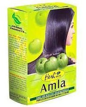 12 BOXES! Hesh Herbal Amla Powder 100g Emblica officinalis Hair Loss Hai... - $40.95