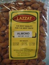 Lazzat Raw Almonds 14oz Imported From India Best Quality Best Taste Usa Seller - $14.00