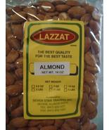 Lazzat RAW Almonds 14oz Imported From India BEST QUALITY BEST TASTE USA ... - $14.00