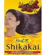 6 BOXES Hesh Herbal 100g/3.5oz Shikakai Powder ACACIA CONCINNA USA-SELL ... - $17.95