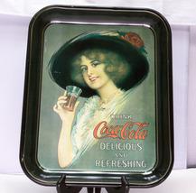Vintage 1972 Rectangular Coca-Cola Metal Serving Tray - $5.95