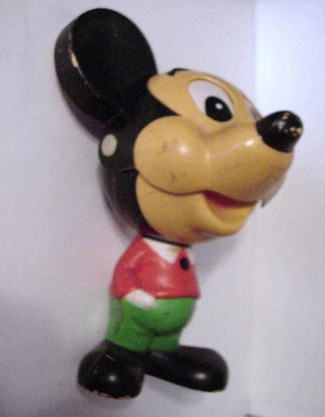 Old Mattel Toys : Vintage mattel talking mickey mouse pull toy toys