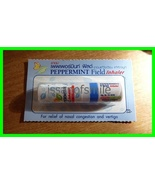 1 TUBE PEPPERMINT FIELD AROMATIC INHALER RELIEF COLD DIZZY - $3.70