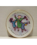 RUSS Mini Collector Plate Grandmothers are Mothers with Experience - $6.90