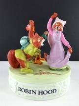 Disney Collection Robin Hood Musical Memories Music Box Figurine Limited - $39.59