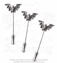 NWT Vampire Goth Bat Dress Lapel Hat Pins Three... - $19.00