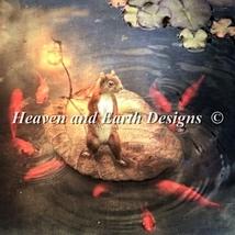 Arpeggio The Squirrel cross stitch chart Heaven and Earth Designs HAED - $17.10