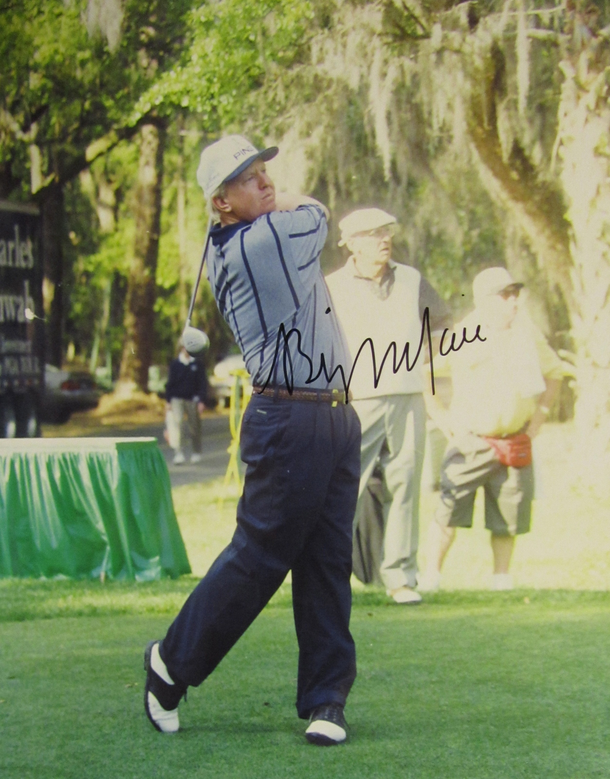 BILLY MAYFAIR SIGNED AUTOGRAPHED 8X10 PHOTO w/COA GOLF GOLFER PGA TOUR MASTERS - $15.00