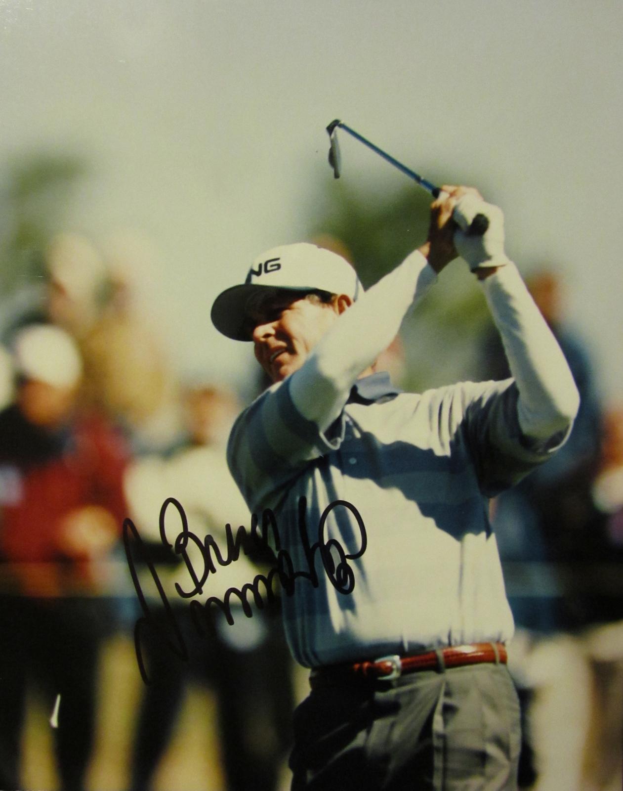 BRUCE SUMMERHAYS SIGNED AUTOGRAPHED 8X10 PHOTO COA GOLF GOLFER PGA TOUR MASTERS - $15.00