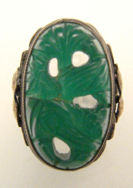 ART NOUVEAU STERLING RING