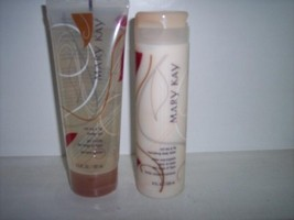* 2 Mary Kay Red Tea Fig Body Lotion & Cleaner Gel NEW - $26.29