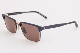 DITA ARISTOCRAT DRX 2076-A LTD-54 Black 18K Gold / Brown Sunglasses 2076 A - $395.01