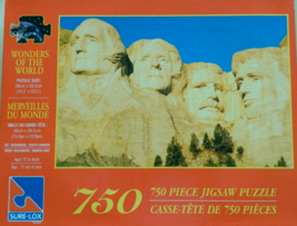 "750 Piece Puzzle ""Mt. Rushmore, South Dakota"" Wonders of the World [Bran... - $79.47"